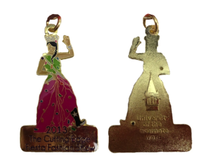 The 2013 medal – Fiesta Duchess